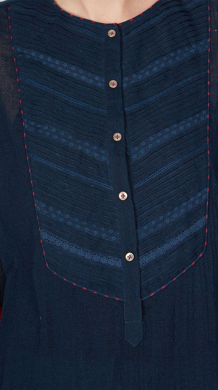 Blue Cotton Suit