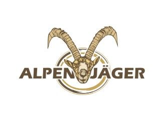 alpenjager Logo design - The adventures and vacations. Price $200.20