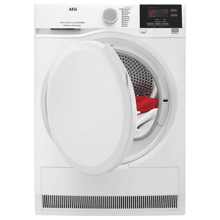 BuyAEG T6DBG720N Condenser Tumble Dryer, 7kg Load, B Energy Rating, White Online at johnlewis.com