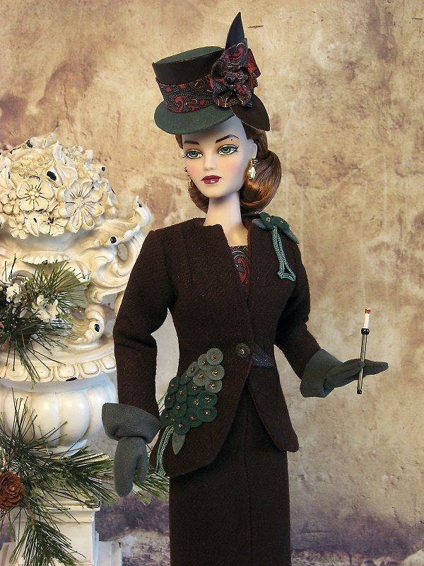 Ooak Suit Ensemble From The Couture Touch Circa 1940 S In