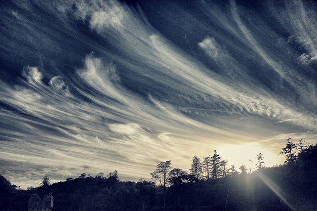 Awesome clouds, Stornoway