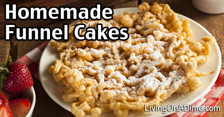 Homemade Funnel Cakes Recipe - Carnival Yumminess For A Lot Less Money
