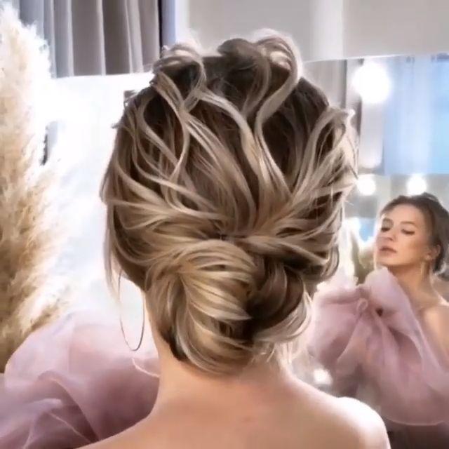 Long wedding hairstyles -updo wedding hairstyles #wedding #weddinghairstyles #hairstyles