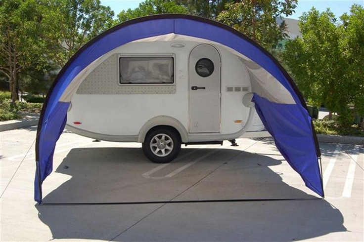 T B Trailer With Awning Wanderlust Pinterest The O