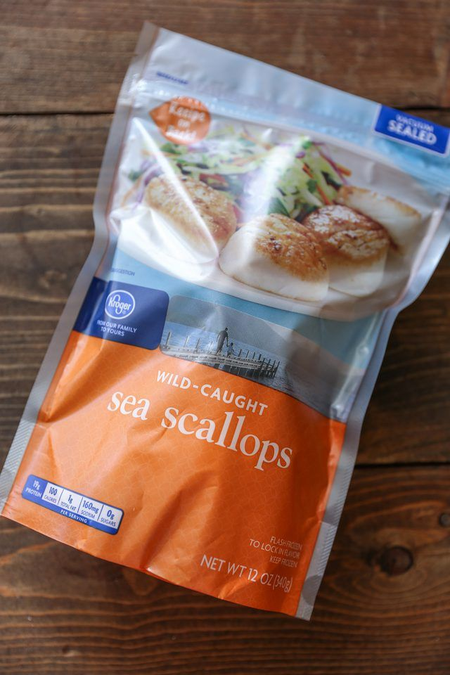 cook frozen sea scallops on the stove top