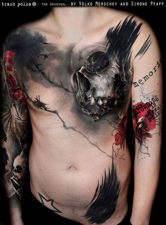 Sehr 47 best Tatouage Trash Polka images on Pinterest | Tattoo trash  FL28