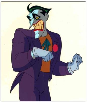 El Guason De Batman Caricatura