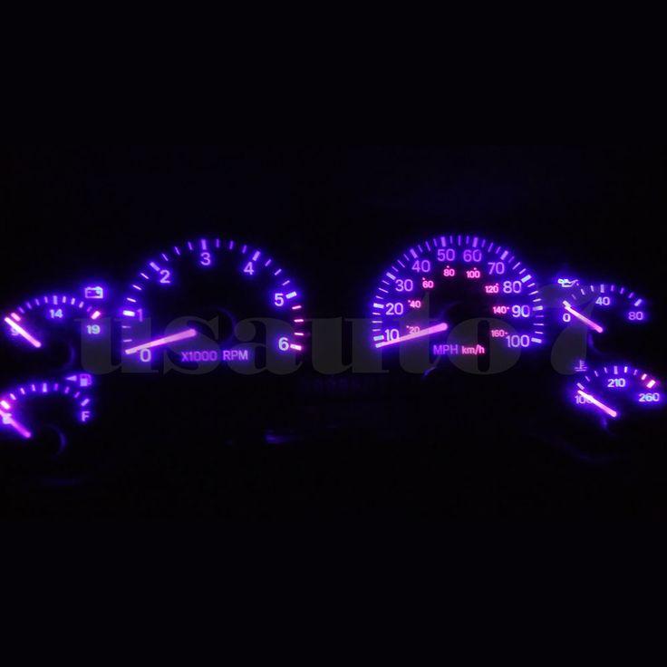Dash Cluster Gauge PURPLE LED LIGHT BULB UPGRADE KIT Fits 97-06 Jeep Wrangler TJ | eBay Motors, Parts & Accessories, Car & Truck Parts | eBay!