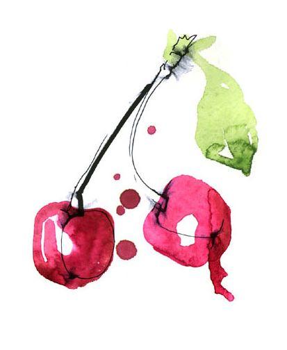 cherries illustration « L O L I T A - Lolitas blog about fashion photography graphic design interior art lifestyle inspiration
