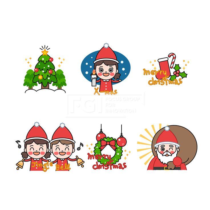SILL185, SILL185, 스페셜데이, 이벤트, 벡터, 에프지아이, 사람, 캐릭터, 스티커, 이모티콘, 라인, 겨울, 크리스마스, 성탄절, 남자, 여자, 산타클로스, 트리, 장식, 일러스트, illust, illustration #유토이미지 #프리진 #utoimage #freegine  19727183