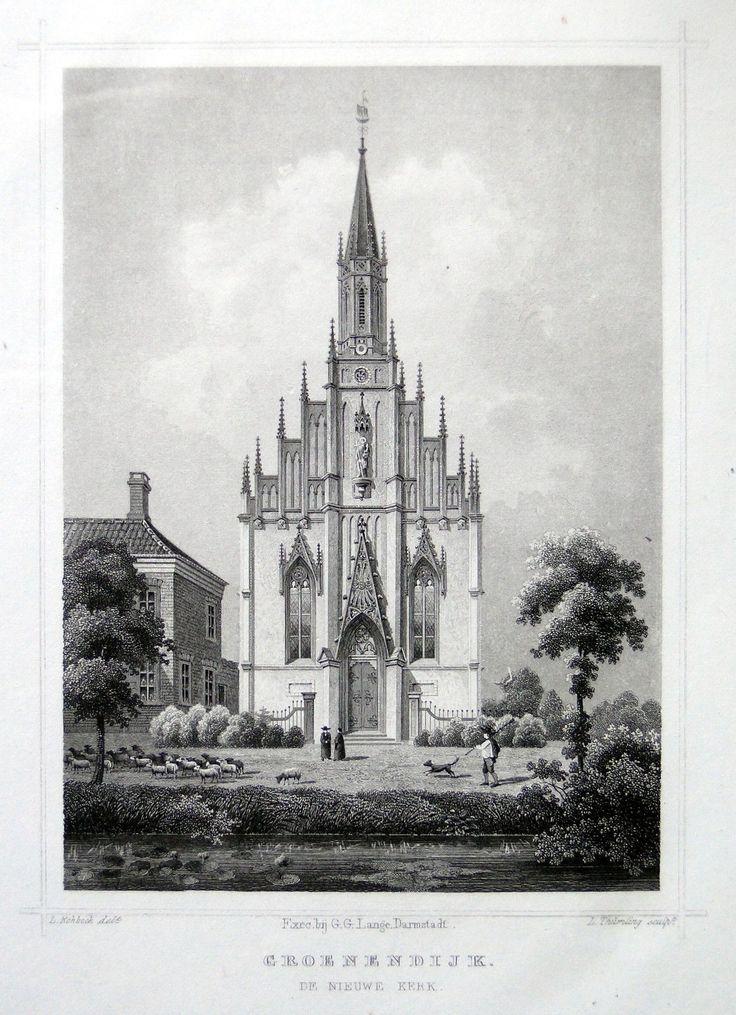 Map Of Poitiers%0A Groenendijkde Nieuwe Kerk   Herkomst   J L  Terwen  Het Koningrijk der  Nederlanden