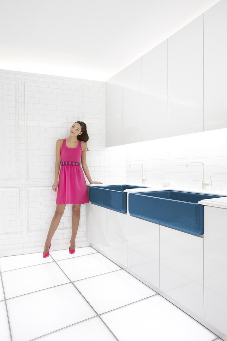 Best 102 color images on pinterest design - Jonathan adler sink ...