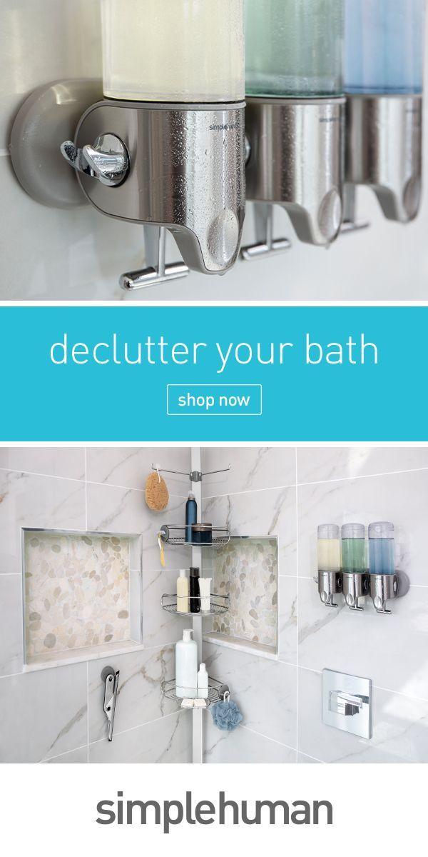 Create An Organized Spa Like Bathroom With Simplehuman Bath Tools