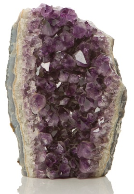 Amethyst - brings faithfulness in love & bestows the gift of prescience
