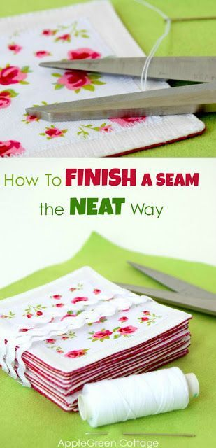 Learn how to finish a seam the neat way. Are just finishing a topstitching, and you'd like BOTH of your project sides look clean and polished and without any visible thread tails? Not just the 'top' side, the wrong one too? Totally doable, even easy! Check it out now!