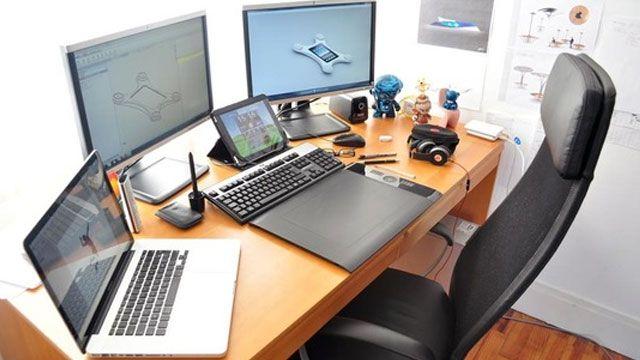 The Designer's Dream Workspace