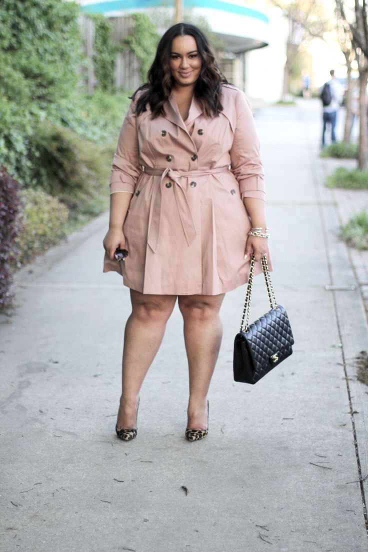 Blush Trench Coat | 3 Ways | Plus Size Outfit Ideas | Beauticurve | Blush outfit ideas