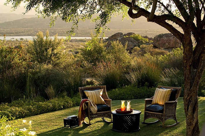 Relais  Chateaux - Only 270 km from Cape Town, this natural haven of tranquility allows one to surrender one's senses, while reconnecting with nature. Bushmans Kloof Wilderness SOUTH AFRICA #relaischateaux #landscape