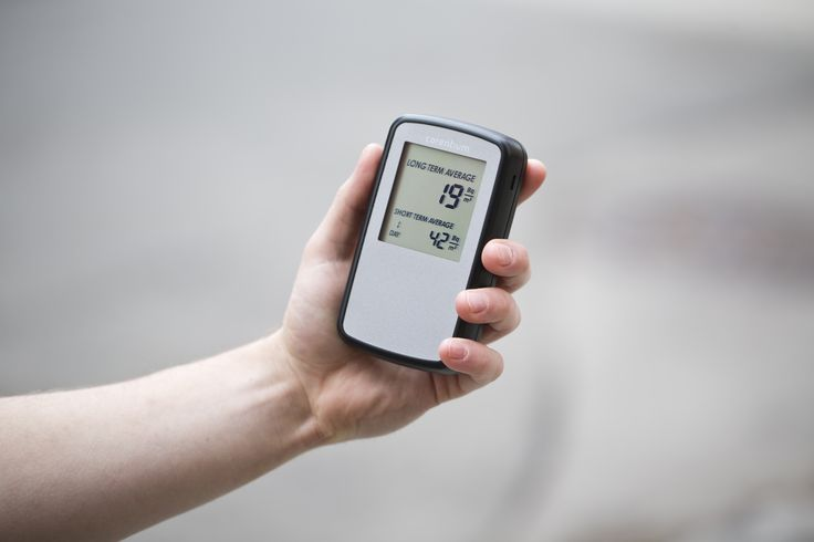 Digital radon detector fits your grip