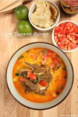 Soto Tangkar Betawi - Betawi Beef Ribs Soup