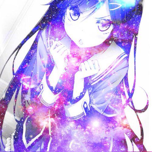 18 best anime galaxy images on pinterest galaxy anime anime art and anime girls - Galaxy wallpaper for girls ...