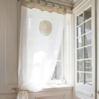 Rideau d co anges mathilde m d coration romantique de la for Marque deco maison