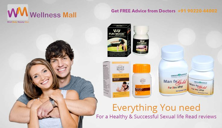 Everything you need For a Healthy & Successful Sexual life . if you want to Increase your Stamina & Enhance your Performance , and Looking For Best Natural and Organic Sexual Health Products For Men and Women at Low Price in India , Here is The Stock of Pure Natural Sexual Health Products in Wellness mall  If You Have Any issue Related to Sexual Health , don't hesitate for this... You can Get Free Advice From Our Doctor's of Wellness Mall at +91 90220-44002 Visit Here For More Products…