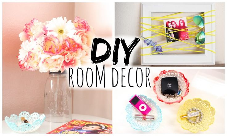 DIY Room Decor for Cheap! Simple & Cute!. Bedroom