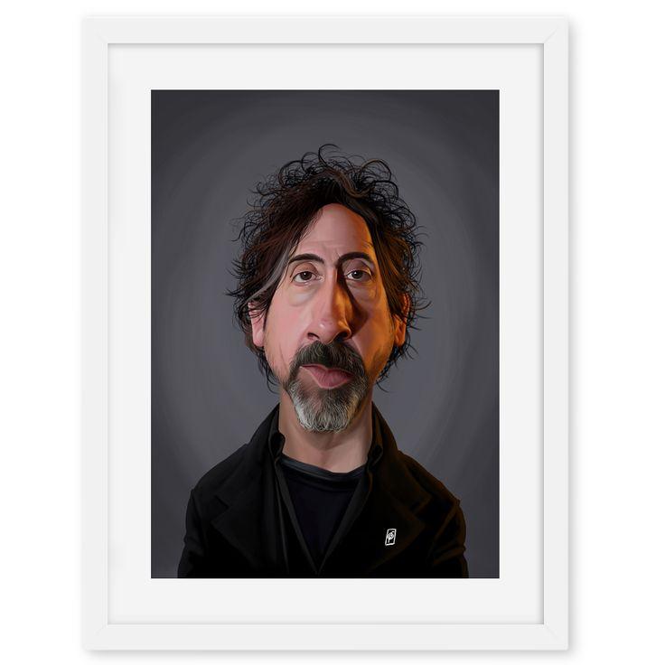 Tim Burton art | decor | wall art | inspiration | caricatures | home decor | idea | humor | gifts