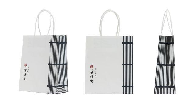 佃煮製造販売会社様の紙袋事例|オリジナル紙袋なら井上工業所
