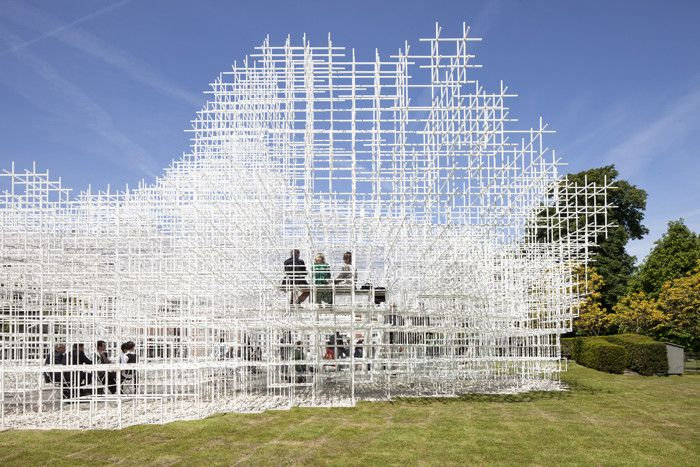 Image 2 of 37 from gallery of 2013 Serpentine Gallery Pavilion / Sou Fujimoto, Photos by Danica Kus. Photograph by Danica Kus