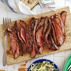 Spice-Rubbed Grilled Flank Steak | MyRecipes.com