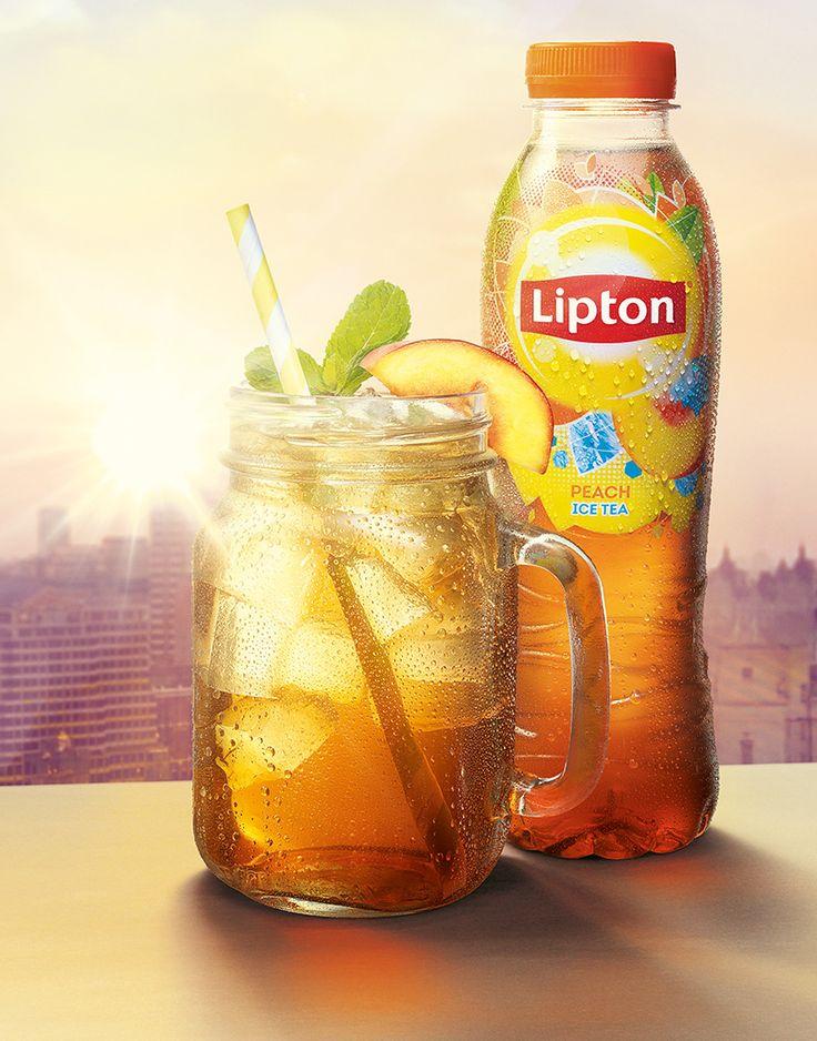 Lipton Ice Tea #BeADaybreaker #DrinksPhotography @liptonicedtea
