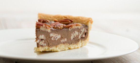 Chocolade pecan taart - Koolhydraatarmerecepten.info