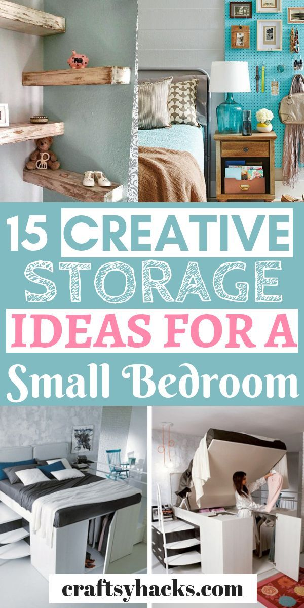 15 Stylish Small Room Storage Hacks Small Room Organization Small Bedroom Storage Small Room Storage