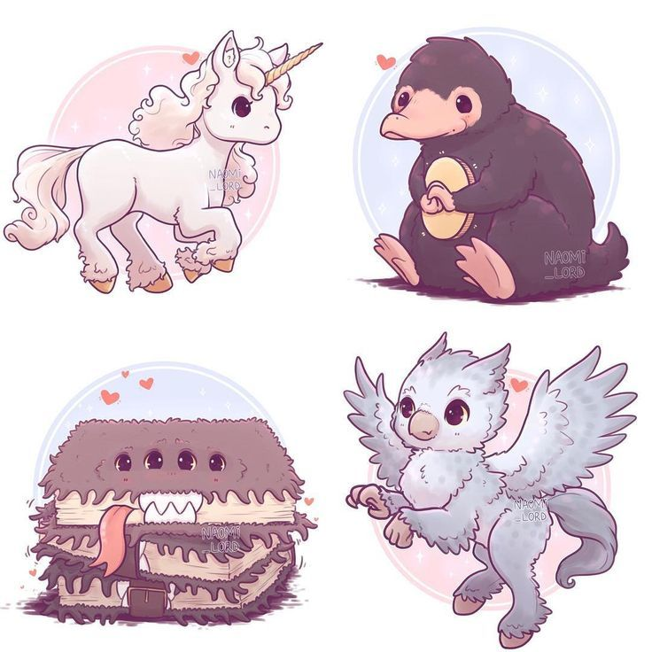 ✨💕 My 'Care of Magical Creatures' series …