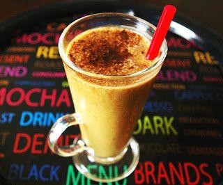 zadanie - gotowanie: Smoothie bananowo-kawowe.