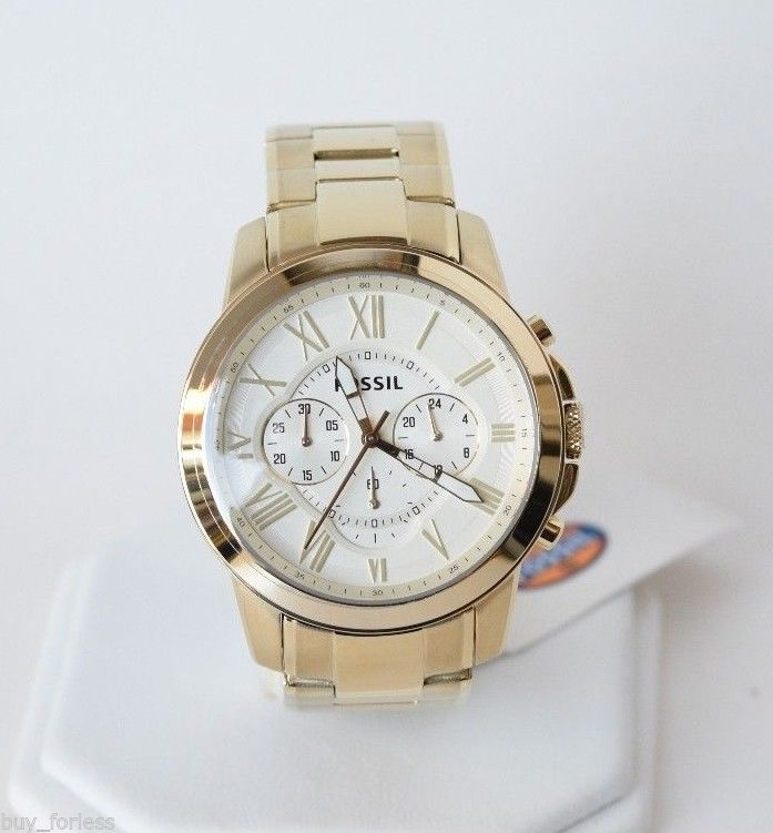 23 best images about women s wrist watches fashion new fossil men s grant gold tone chronograph watch fs4814