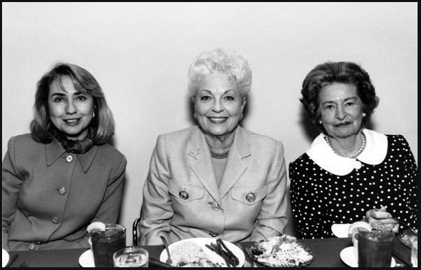 Hillary Clinton, Ann Richards and Lady Bird Johnson