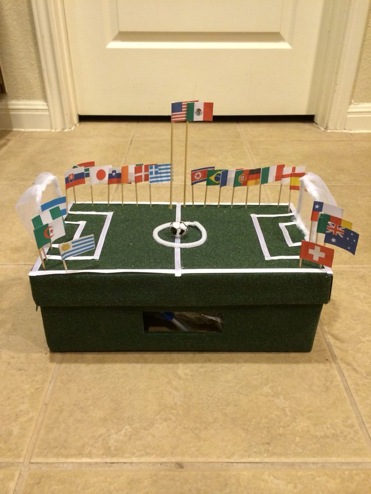 soccer valentines box idea