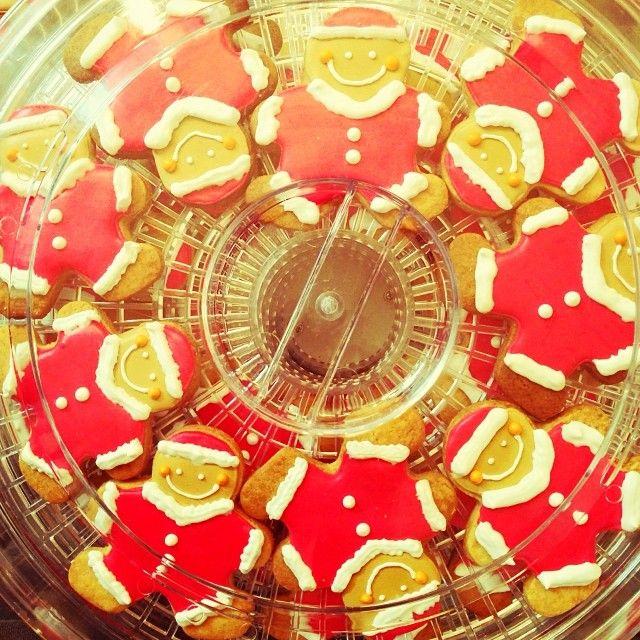 サンタクッキー。 メニィメニィサンタクロース