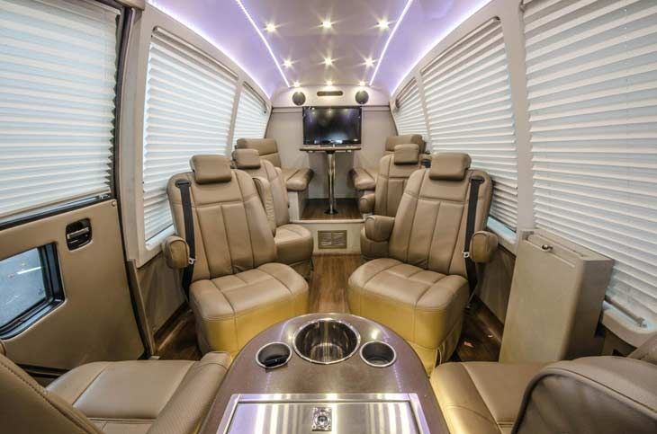 Mercedes Benz Sprinter Van Rentals Ride In Style With