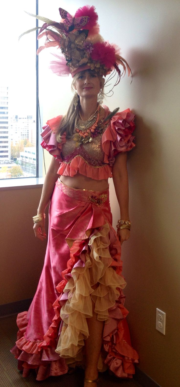 Absolutely awesome Captain Glitterpants!  Carmen Miranda costume 2014
