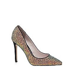 Faith - Multi-coloured sequinned 'Chloe Party' high court shoes