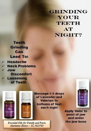 Young Living Essential Oils Teeth Grinding by jayner. Young LIving Distributor #1702241 to order at www.youngliving.org or message me.