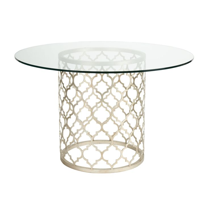 Ethan allen dining tables and round glass on pinterest - Ethan allen kitchen tables ...