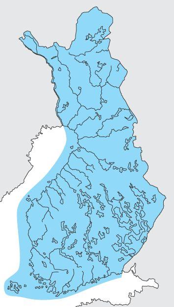 Kuvahaun tulos haulle suomen kartta joet