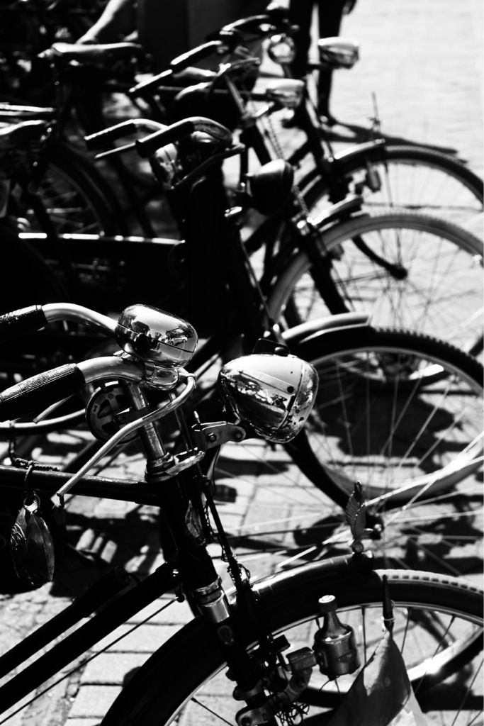 Onthel's bike, an old kind of bike from Indonesia