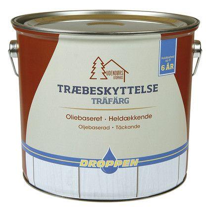 4L ANTRAZITGRÅ HELDÆK TRÆBESKY