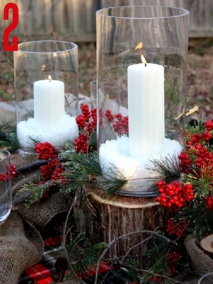 great ideas for christmas centerpieces: